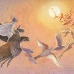 IN EVERY MOON Birds by Arlene Graston