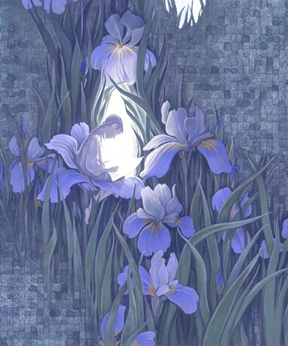 MAGIC GARDEN I Have the Door Open For You by Arlene Graston