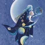 MOON SERIES Moon Child by Arlene Graston